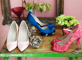 Bridesmaid shoes and Mother of the Bride