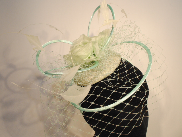 CP81 - Mint Green - Fascinator