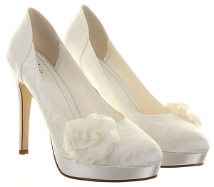 Else by Rainbow Club Mimosa Ivory Wedding Shoes