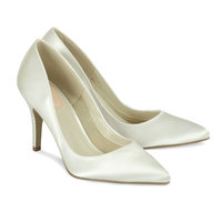 Ivory Bridal Shoes - Paradox Pink Flush