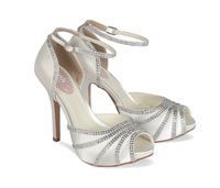 Paradox Pink Icing Dyeable Satin Wedding Shoes