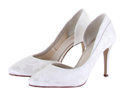 Rainbow Club Jessica Lace Wedding Shoes