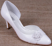 Lindsey May Bridal Shoes Camila Ivory Leather