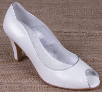 Lindsey May Bridal Shoes Maria Ivory Leather