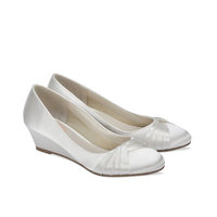Paradox Pink Gleam Ivory Wedding Shoes