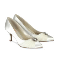 Paradox Pink Splendour Ivory Wedding Shoes