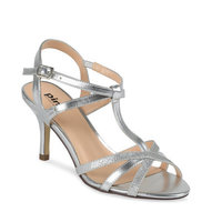 Paradox Pink Georgina Silver Shoes