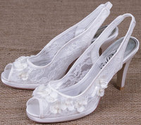 Perfect Bridal Shoes Lottie Ivory Lace
