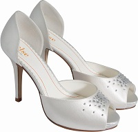 Else Pina Colada Ivory Wedding Shoes SALE