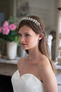 Rainbow Club Bluebell Pearl Bridal Tiara