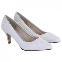 Rainbow Club Britt Dyeable Lace Wedding Shoes