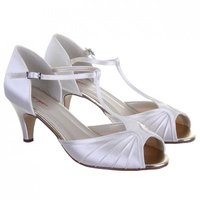 Rainbow Club Katy Dyeable Satin Wedding Shoes