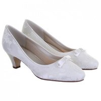 Rainbow Club Patsy Dyeable Lace Wedding Shoes