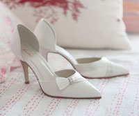 Rainbow Club Taylor Dyeable Wedding Shoes sale