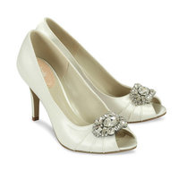 Ivory Bridal Shoes - Paradox Pink Tender
