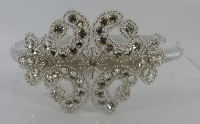 Vintage inspired brides or bridesmaids head band