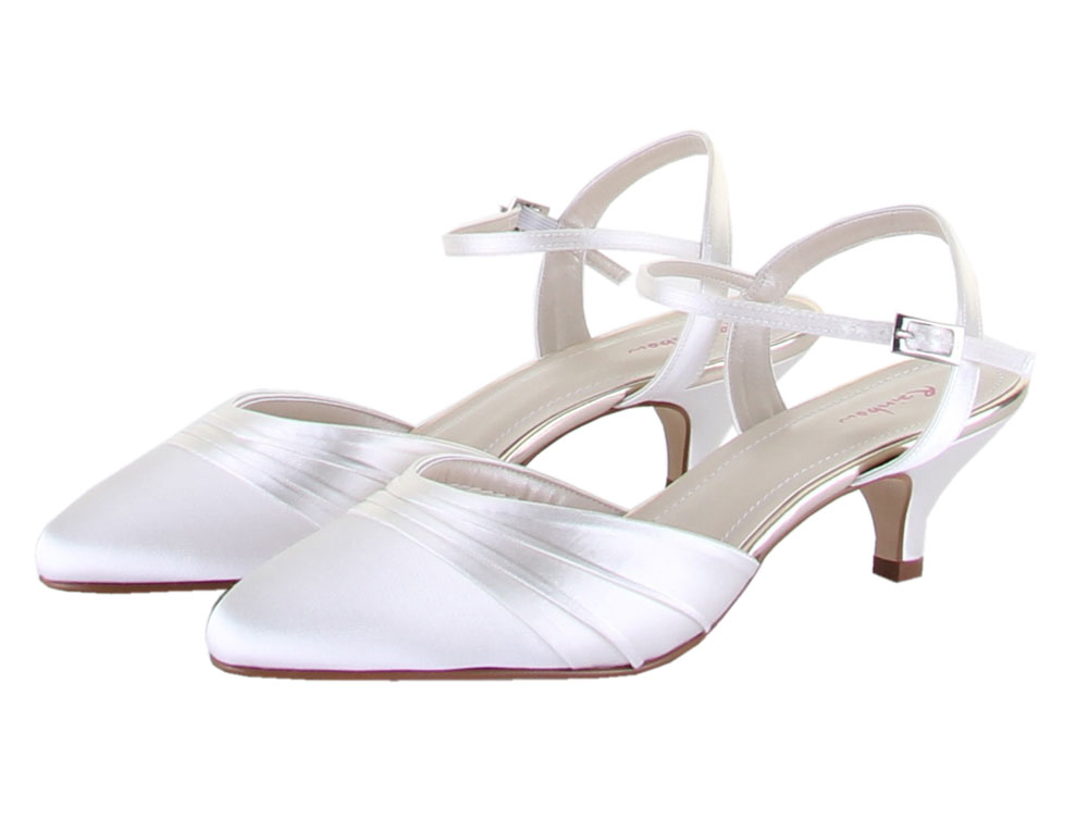 Wedding Shoes Ivory Wide Fit