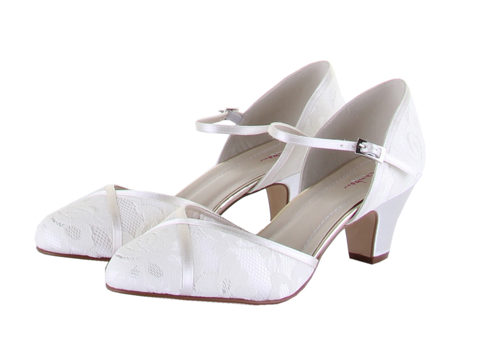 Rainbow Club Shirley Lace Bridal Shoes