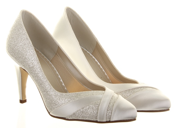 Rainbow Club Shoes Mila Wide Fit Wedding Shoes