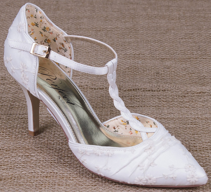 Betsy Ivory Lace Perfect Wedding Shoes By Perdita 39 S