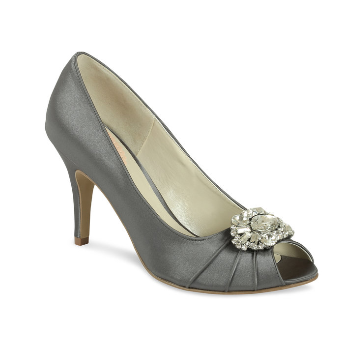Grey Occasion Shoes Tender By Paradox Perdita 39 S Wedding Shoes