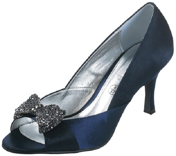 Lexus z071 bow navy satin shoes wedding shoes by perditas lexus z071 bow navy satin shoes junglespirit Gallery