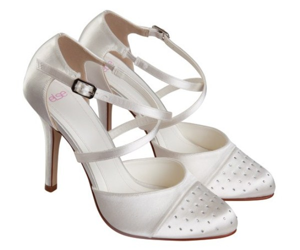 Cava by Else Dyeable Bridesmaid Wedding Shoes