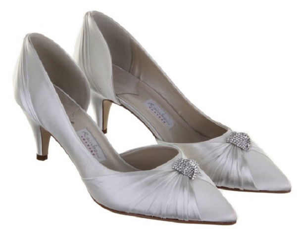 Rainbow Couture Pisaro Ivory Bridal Shoes